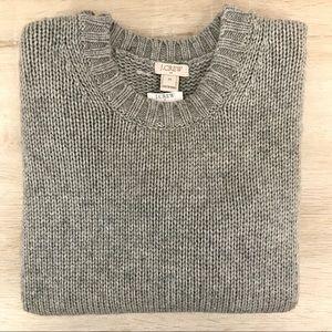 J. CREW Gray Wool Sweater - NWT